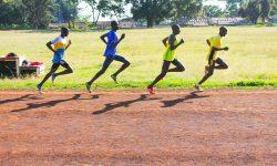 Bahntraining der Kenianer in Iten