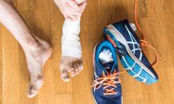 PECH Regel bei Verletzungen anwenden