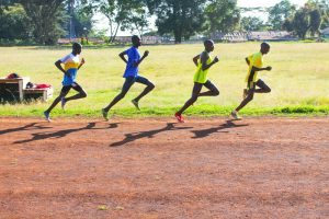 Bahntraining in Iten