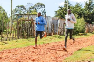 Fartlek Training der Kenianer in Iten