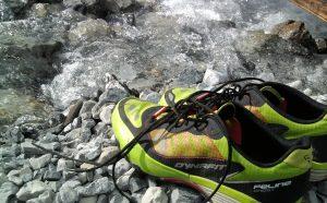 Frei sein mit der Natur Trail-Running