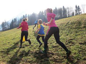 Lauftraining für Kinder Crosslauf Allblacks Thun 2
