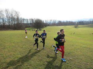 Lauftraining für Kinder Crosslauf Allblacks Thun