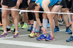 Wettkampftag Marathon es gilt ernst