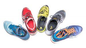 Sportverletzungen vermeiden - unterschiedliche Laufschuhe