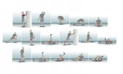 Dehnen Übungssammlung Stretching