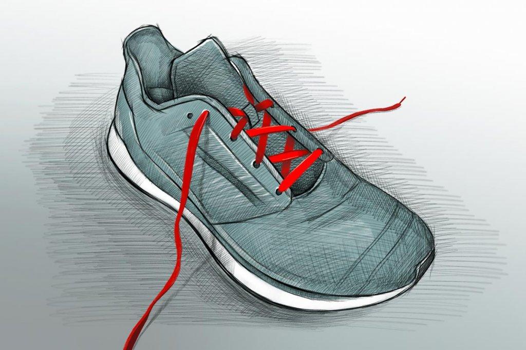 Lauftipps_Marathon_Schnuerung_Illustration_1