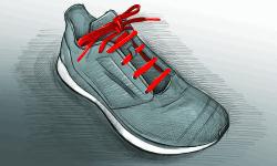 Parallelschnürung Laufschuhe 5