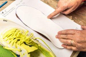 Sensomotorische Einlagen für Laufschuhe - Roheinlage